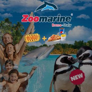 Zoomarine ingresso + menu