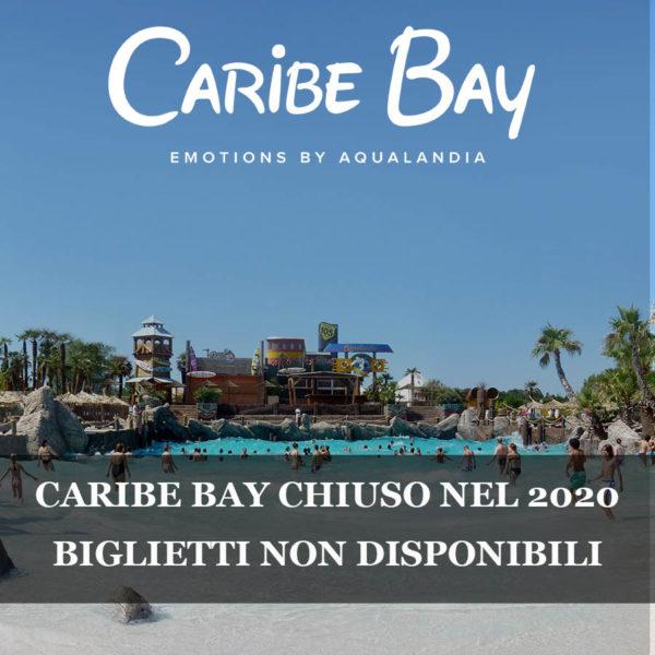 Caribe Bay chiusura
