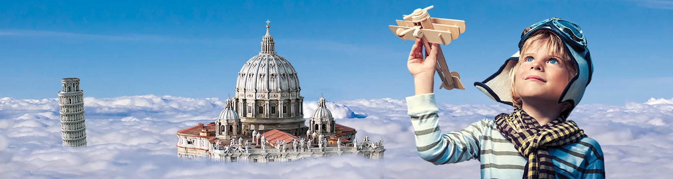 Italia in Miniatura Bambino aeroplano
