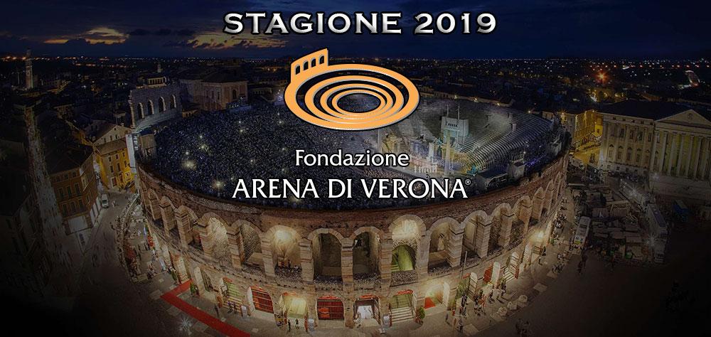 Arena di Verona – Stagione Lirica 2019