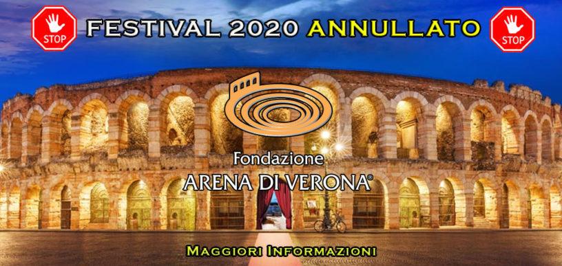 Arena Verona annullato 2020