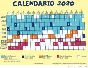Calendario Leolandia