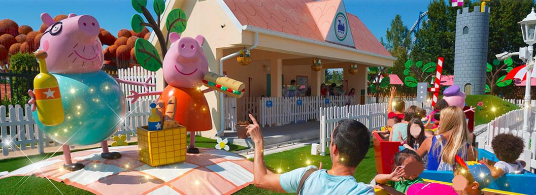 Gardaland attrazioni Peppa Pig Land