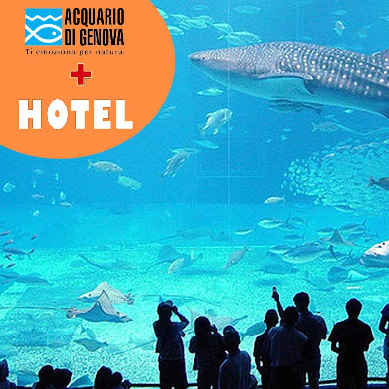 Acquario di Genova+hotel