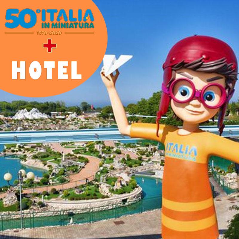 Italia in Miniatura+hotel